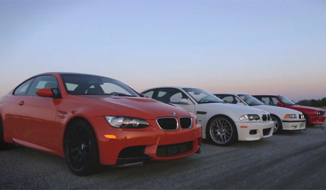 Video: Carlos Lago Drives BMW E92 M3, E46 M3, E36 M3 and E30 M3