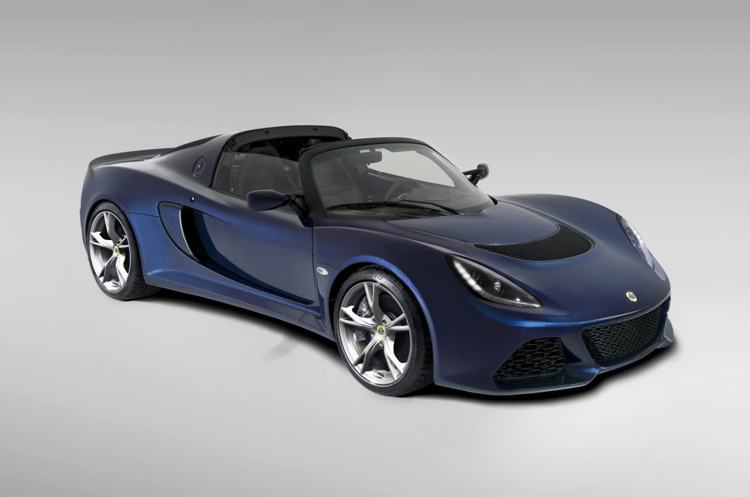 Video: 2014 Lotus Exige S Roadster Teased