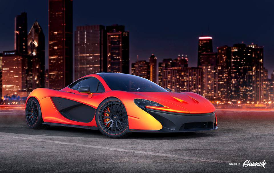 Render: McLaren P1 With ADV.1 Wheels