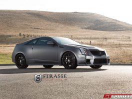 Cadillac CTS-V with Strasse Forged Wheels