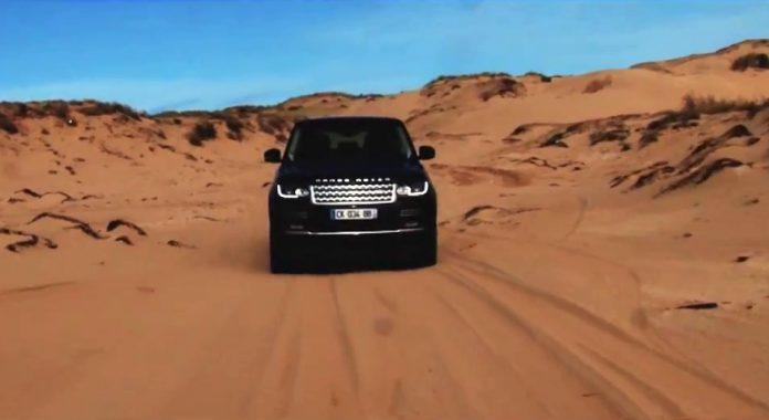 Range Rover Autobiography in Moroccan Desert