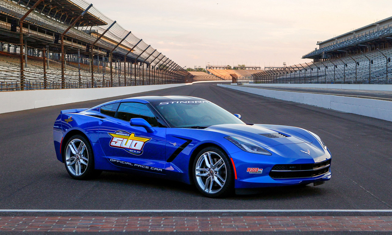 video 2014 chevrolet corvette stingray pace car at. Black Bedroom Furniture Sets. Home Design Ideas