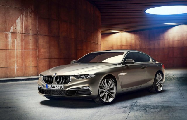 Render: BMW 8-Series Based on Gran Lusso Coupe