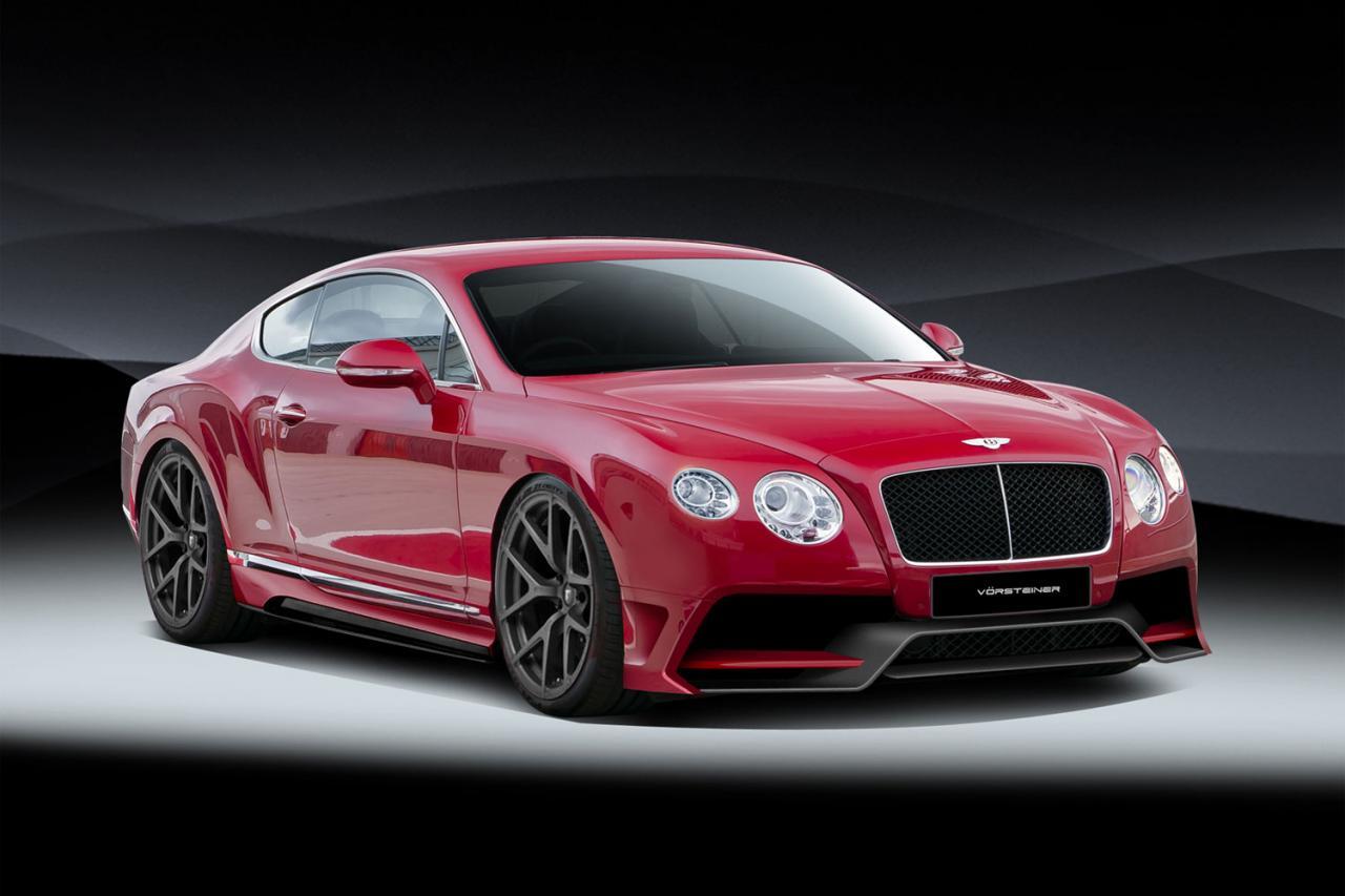 Official Bentley Continental Gt By Vorsteiner Gtspirit