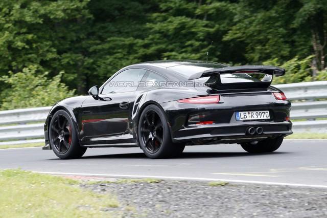 Spyshots: 2014 Porsche 911 GT2 on the 'Ring