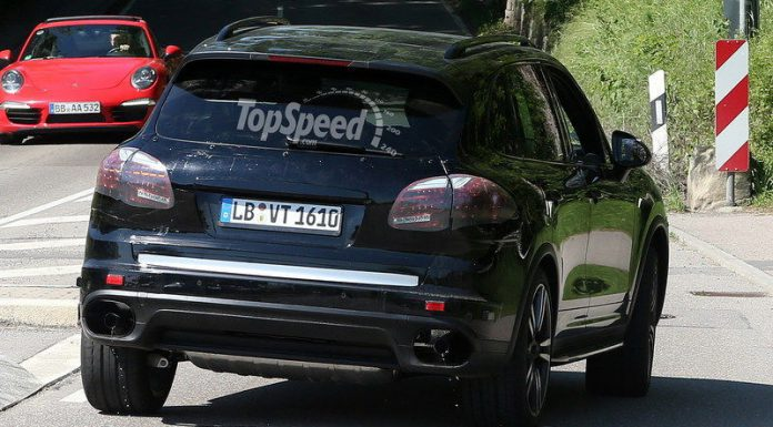 Spyshots: 2015 Porsche Cayenne in Germany