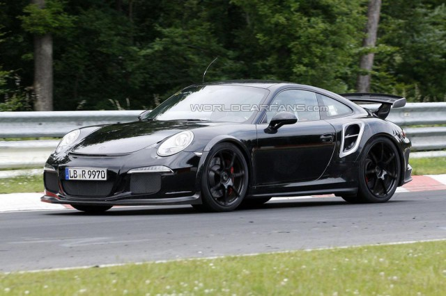 Spyshots: 2014 Porsche 911 GT2 on the 'Ring