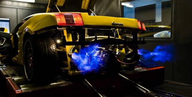 Photo Of The Day: Lamborghini Gallardo Spitting Flames
