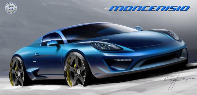 Porsche Cayman S Based StudioTorino Moncenisio Announced