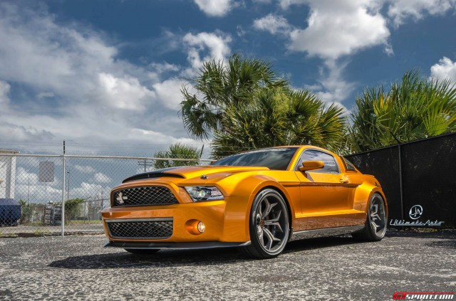 2013 Wide Body Shelby GT500 Super Snake 850HP by Ultimate Auto