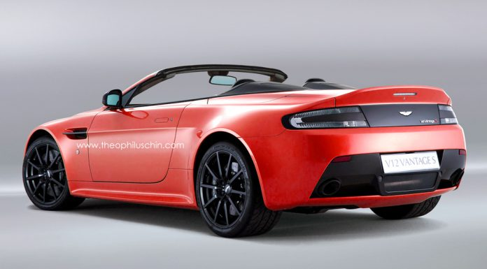 Render: 2014 Aston Martin V12 Vantage S Roadster by Theophilus Chin