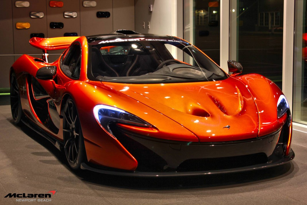 Gallery: Official Pics of the McLaren P1 at McLaren Newport Beach
