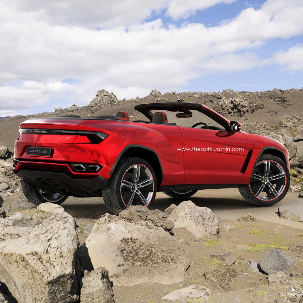 Render Lamborghini Urus Cabriolet By Theophilus Chin