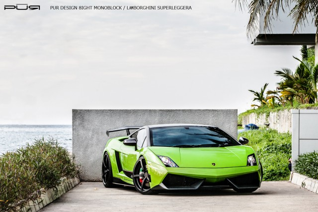 Gallery: Lamborghini Gallardo LP570-4 Superleggera on PUR Wheels