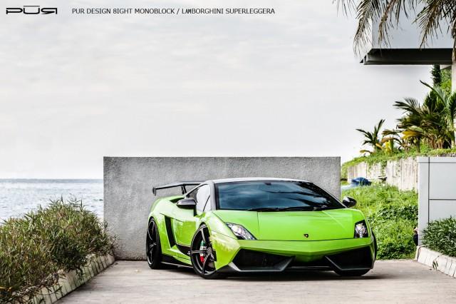Gallery: Lamborghini Gallardo LP570-4 Superleggera on PUR Wheels