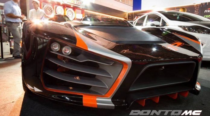Donto P1 Debuts at the International Buenos Aires Motor Show 2013