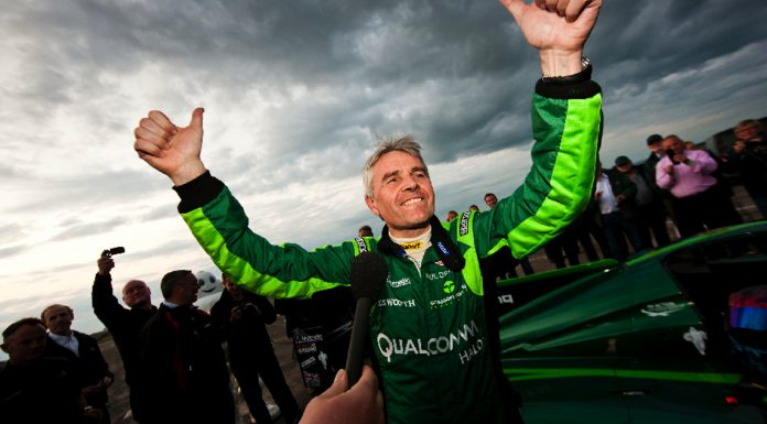 Drayson Racing Sets Electric Land Speed Record at 204mph