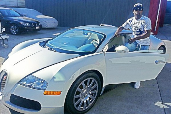 Mayweather Cars And Money Floyd 'money' Mayweather Poses