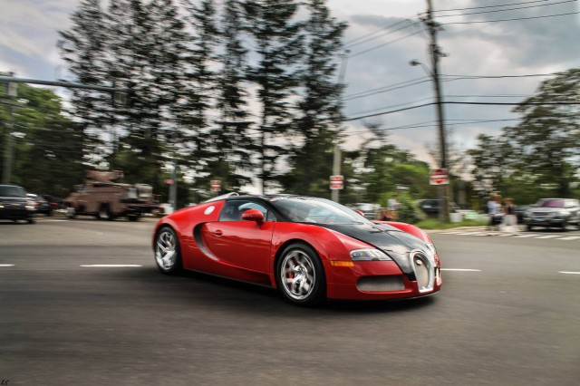 Photo Of The Day: Bugatti Veyron in Greenwich by Lamboshane Photography