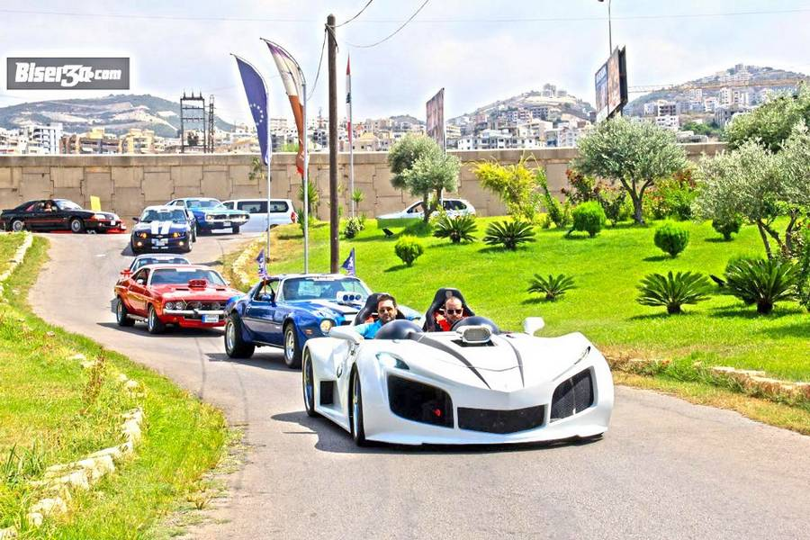 Gallery: American Muscle Cars in Lebanon, Middle East - GTspirit