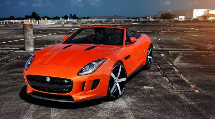 Gallery: Jaguar F-Type V8 S on Vossen Wheels