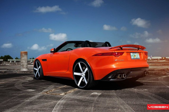 Gallery: Jaguar F-Type V8 S on Vossen Wheels