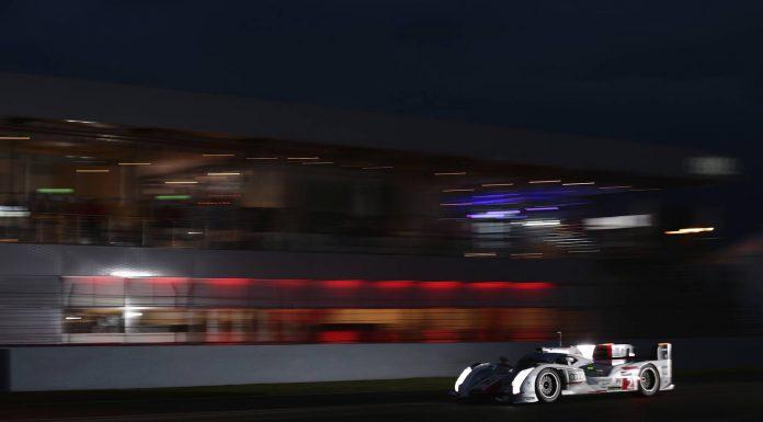 Number 2 Audi at Le Mans 2013