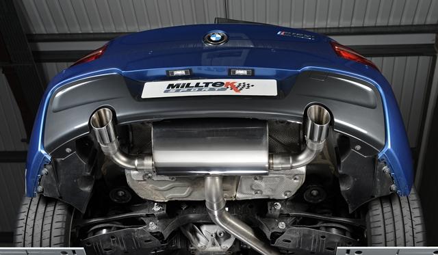 Official: Milltek Sport Performance Exhaust System for BMW M135i