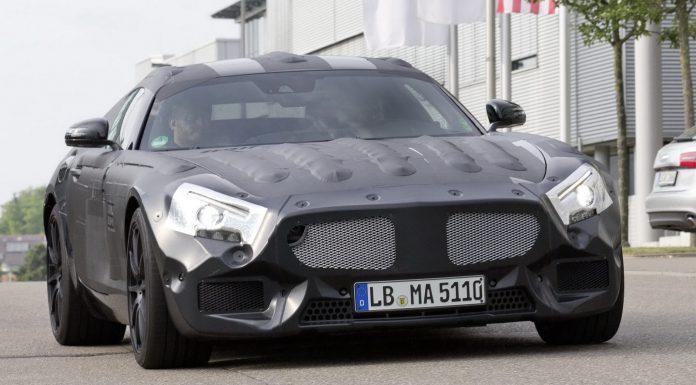 Spyshots: 2016 Mercedes-Benz GT