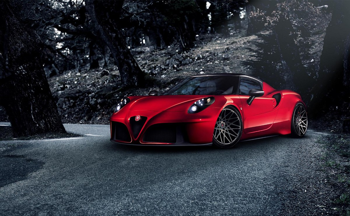 official pogea racing alfa romeo 4c gtspirit. Black Bedroom Furniture Sets. Home Design Ideas