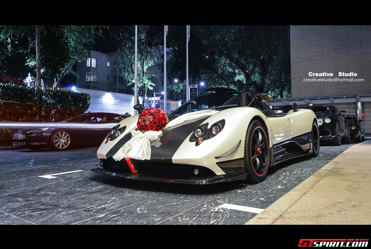 Design of bridal car - We Have Presented Quite A Few Exotic Wedding Cars And