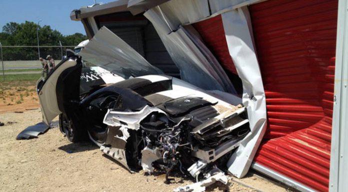 Car Crash: McLaren 12C Spider Destroyed at Gold Rush Rally 2013