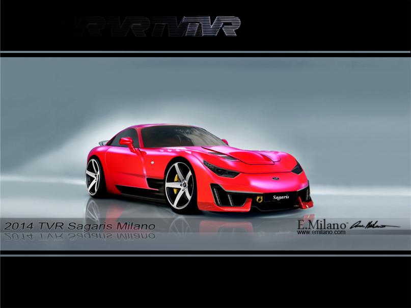 Render: 2014 TVR Sagaris Concept by Evren Milano