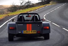 Video: Chris Harris Drives Morgan 3 Wheeler and Caterham Seven