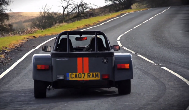 Video: Chris Harris Drives Morgan 3 Wheeler and Caterham Seven