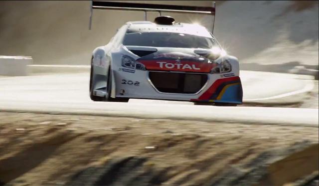 Video: Peugeot 208 T16 Testing at Pikes Peak International Hillclimb 2013