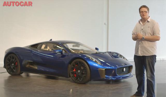 Video: Autocar Drives Jaguar C-X75 Prototype