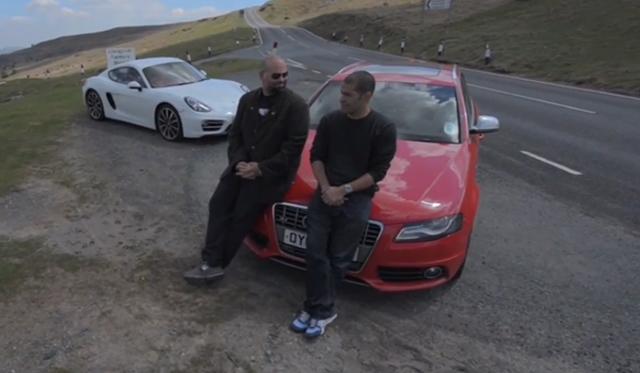 Video: 415hp Audi S4 vs 275hp Porsche Cayman in Tuned