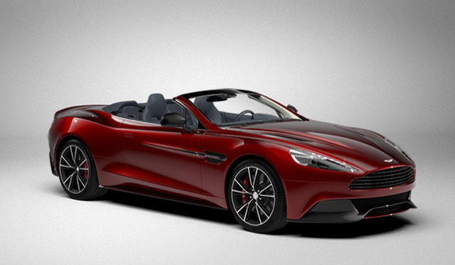 2014 Aston Martin Vanquish Volante Online Configurator Launched