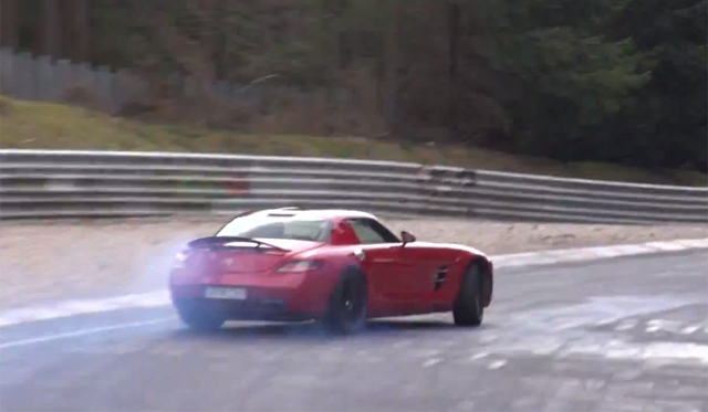Video: Epic Powerslides on the Nurburgring
