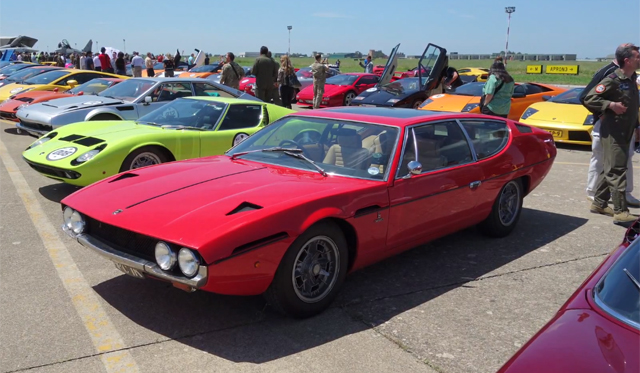 Video: 1000 Mile Road Trip in Lamborghini Espada by Evo