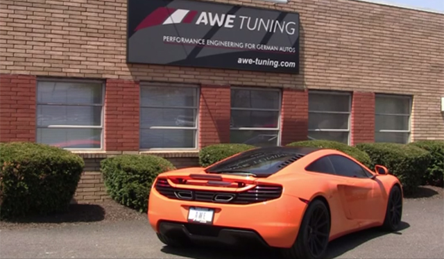Video: McLaren 12C With AWE Exhaust