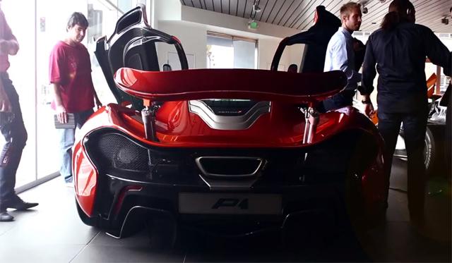 Video: First McLaren P1 Arrives in the U.S.