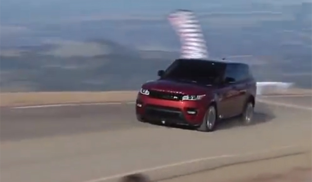 Video: 2014 Range Rover Sport's Record-Setting Pikes Peak run