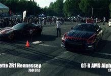 Video: Nissan GT-R Alpha 12 by AMS Hits 382km/h in 1 Mile