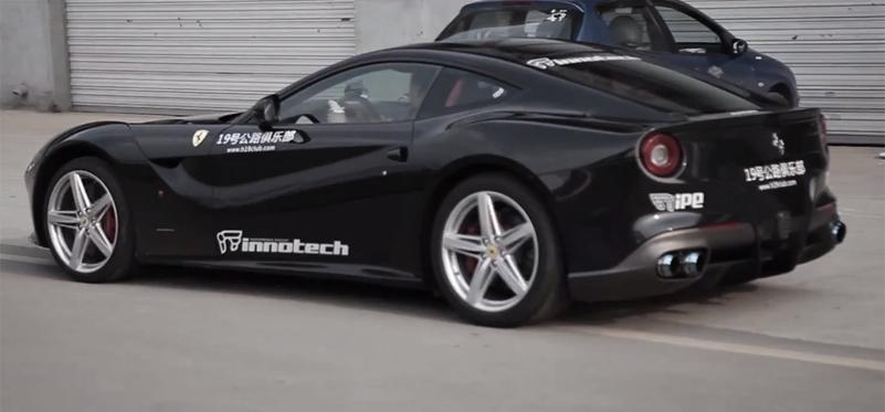Video: Ferrari F12 Berlinetta With iPE Innotech Exhaust