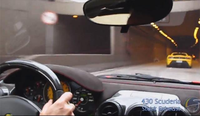 Video: Six Incredible Ferrari V8 Exhaust Notes