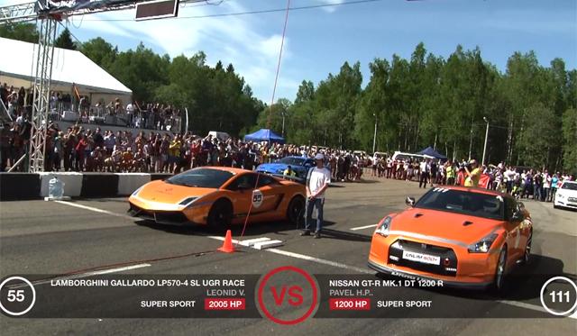 Video: 2000hp Twin-Turbo Lamborghini Gallardo LP570-4 Superleggera Racing