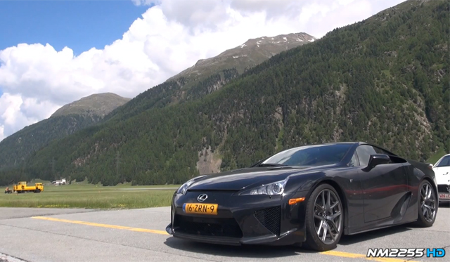 Video: Awesome Lexus LFA Exhaust Note by NM2255