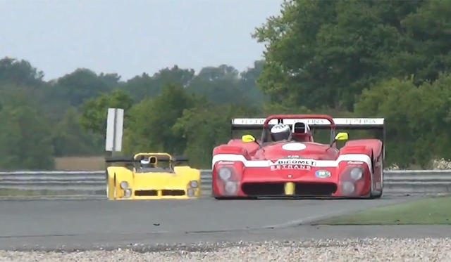 Video: Two Ferrari 333SP's Hit the Track